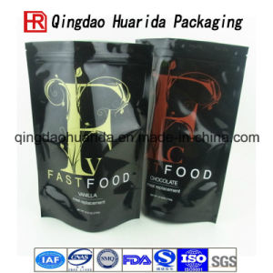 Wholesale Glossy Ziplock Standing up Plastic Food Packing Bag pictures & photos