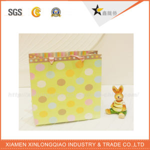 High Quality Christmas Brown Paper Bag with Handle pictures & photos