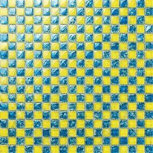 15X15mm Crakle Glass Mosaic Tile Bathroom Tile Kitchen Tile pictures & photos