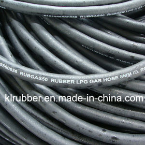 High Quality Flexible Rubber Natural and LPG Gas Hose pictures & photos