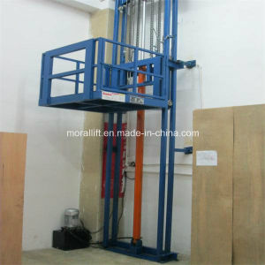 Hydraulic Vertical Lead Rail Lift Platform pictures & photos