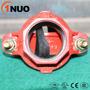 1nuo Factory Casting Ductile Iron Grooved Pipe Fittings Reducer pictures & photos