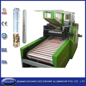 Household Aluminum Foil Roll Machine (GS-AF-600) pictures & photos
