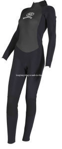 Women′s Diving Suit with Nylon Fabric (HXWS082) pictures & photos