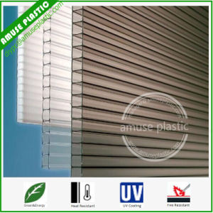 Light Weight Transparent Hollow Polycarbonate Decorative PC Ceiling Panel pictures & photos