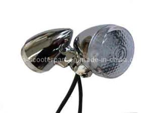 EEC Chromeled Turning Light for Scooter pictures & photos