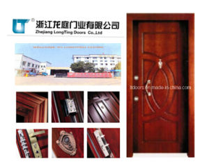 Turkish Style Steel Wooden Armored Door with Factory Price pictures & photos