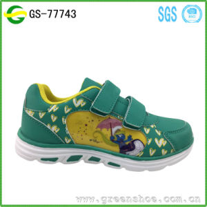Fashionable Lovely Funny Girl Shoes Cartoon Kids Shoes pictures & photos