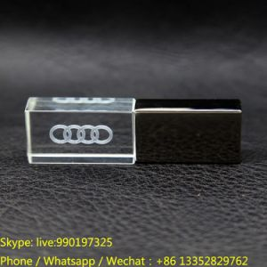 3D Engraving Acrylic USB Disk Handle pictures & photos