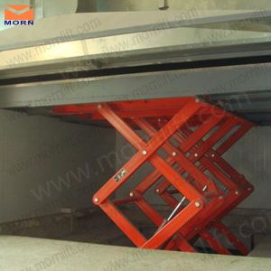 2m Scissor Type Warehouse Hydraulic Lift pictures & photos