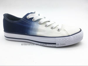 New Arrival Women Canvas Sneaker with Fading Color (ET-YH160160W) pictures & photos
