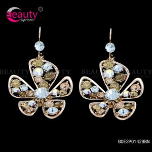 Flower Shape Fashion Shinning Jewellery Earring for Women