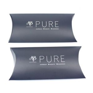 Hot Paper Pillow Box for Hair Extension Packaging pictures & photos