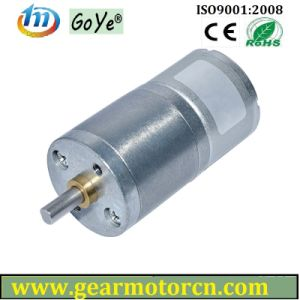 25mm Diameter for Home Office Automation DC Gear Motor