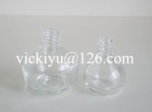Pumpkin-Shaped Small Glass Bottles for Nail Polish 10ml pictures & photos