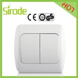 Hot Sales 2 Gang 1 Way Wall Switch