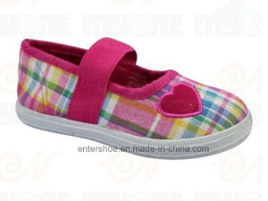 Spring Cheap Flat Canvas Shoes for Baby Kids (ET-MY170432K) pictures & photos
