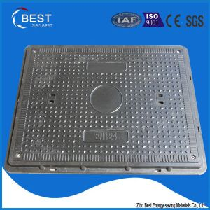 En124 B125 China Supplier Plastic Ship Manhole Cover with Frame pictures & photos