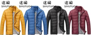 Mens Down Padding Fashion Lightweight Winter Jacket pictures & photos