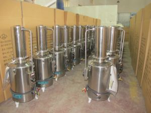 Auto-Control Stainless Steel Water Still pictures & photos