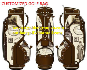 High Quality Lady Golf Bag/Caddie (Caddy) Bag From Japan Black Pink pictures & photos