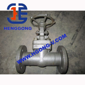 API/DIN Stainless Steel Wedge Forged Flange Gate Valve
