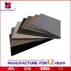 Aluminium Composite Polyester Alucoworld Hot Sale pictures & photos