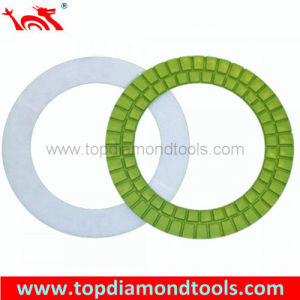 Diameter 7′′ Ring Resin Diamond Polishing Pad for Concrete pictures & photos