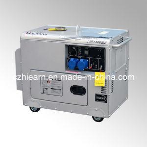 4kw Silver Color Silent Diesel Generator Set (DG5500SE) pictures & photos