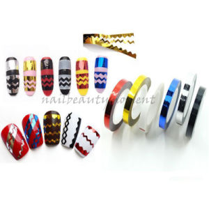 Manicure Nail Beauty Art Curve Striping Tape Decoration Products (D35) pictures & photos