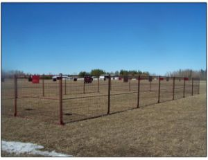 1830mm X 2950mm Temporary Construction Fence Panels for Canada Market pictures & photos
