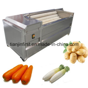 Industry Use Brush Potato Cleaning Machine pictures & photos