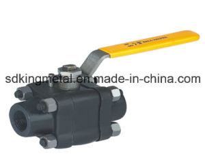 3 Way Ball Valve with Mounting Pad pictures & photos