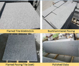 G603 Grey Granite Slab / Tile for Flooring Paver pictures & photos