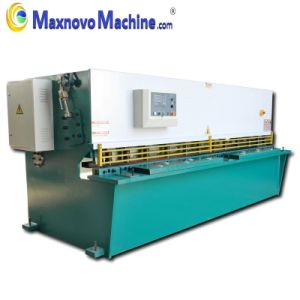 Hydraulic Swing Beam Cutting Plate Shearing Machine (MM-KHT6012) pictures & photos