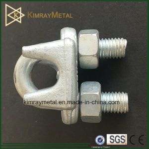 Electro Galvanizing Drop Forged Wire Rope Grip pictures & photos