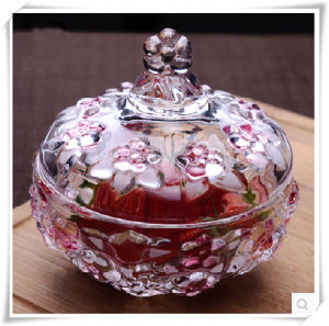Hot Selling Glassware Glass Sugar Bowl Jar pictures & photos