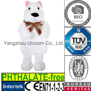 CE EN71 Stuffed Appease Baby Soothe Toy Plush Polar Bear