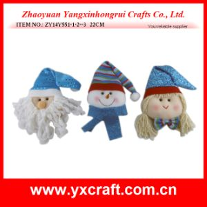Christmas Decoration (ZY14Y551-1-2-3) Christmas Dollar Promotional Products Metal Craft pictures & photos