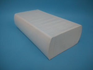 150sheets Ultraslim Fold Hand Towel Virgin and White pictures & photos