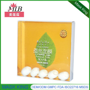 Anti Wrinkle L-Vc Whitening Silk Facial Mask pictures & photos