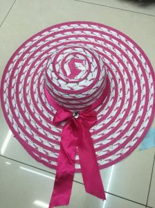 Sun Straw Paper Hot Selling Promotional Topee Glacier Cap Sunbonnet Hat GS122301 pictures & photos