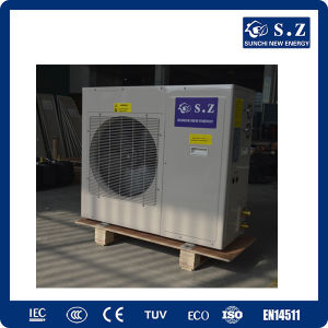 China best split condensor design 25c winter floor house for Best heating source for home