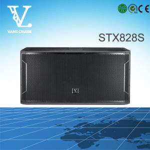 Stx828s Dual 18inch Big Power Outdoor Subwoofer Speaker pictures & photos