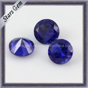 5mm Round Shape Brilliant Cut 34# Sapphire Corundum pictures & photos