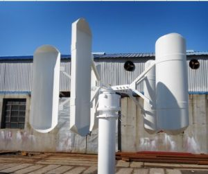 Vertical Home Use Low Noise Wind Turbine Generator 500W pictures & photos