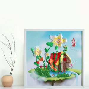 Factory Cheapest Wholesale New Children Kids DIY Embroidery Craft Cross Stitch T-137 pictures & photos