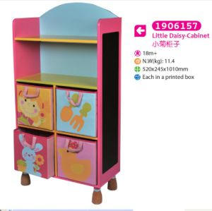 Wooden Cabinet Storage Cabinet for Kids for Children pictures & photos