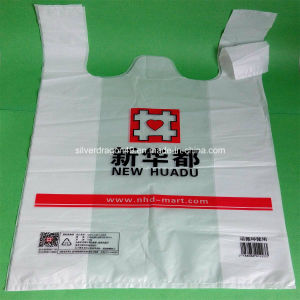 Heavy Duty HDPE T-Shirt Bags for Grocery pictures & photos