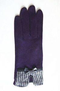 Lady Fashion Wool Gloves (JYG-28009) pictures & photos
